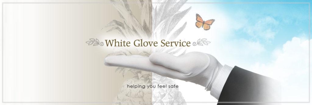 White Glove Banner